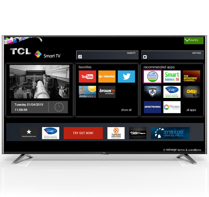 TCL 55 INCH DIGITAL SMART TV